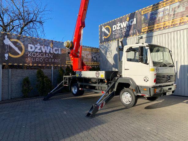 Dźwig dekarski żuraw ciesielski budowlany Bocker AK 27/1000
