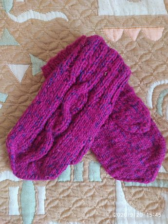 В'язані рукавиці