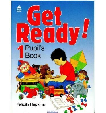 Get Ready 1,2 Pupils book + Work book