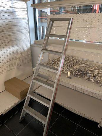 Escada com 7 degraus