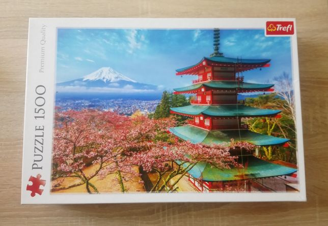 Puzzle Trefl 1500 el., góra Fudżi