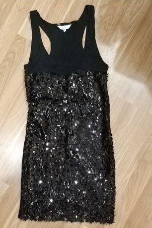 New Look вечернее коктельное платье с пайетками +подарок
