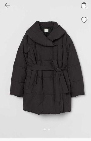 Watowana tkaninowa kurtka MAMA H&M