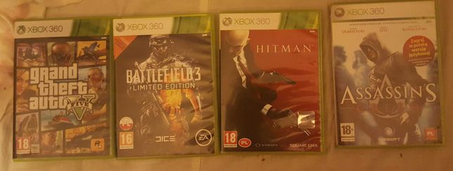 Gry na xbox 360; PS 3; Nintendo DS; PC