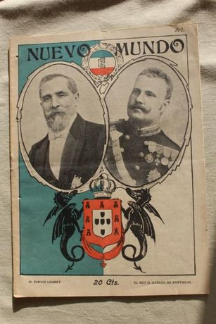 Revista Nuevo Mundo - Novembro 1905 - Rei D. Carlos