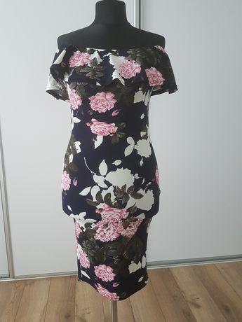 Sukienka AX Paris Asos  w kwiaty