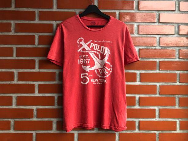 Polo Ralph Lauren оригинал мужская футболка размер L Поло Б У