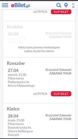 Bilety na koncert Krzysztof Zalewski - Rzeszów