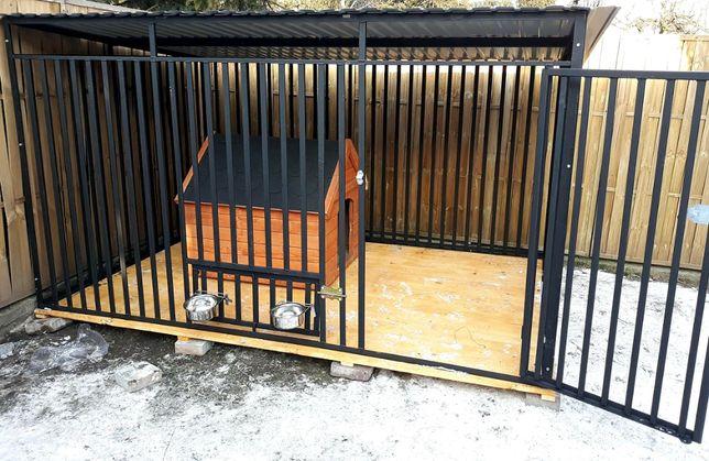 Kojec 4x2 Kojce dla psów Boksy Budy Zagrody Mocna Konstrukcja