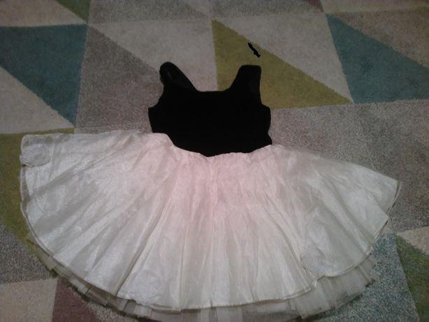 sukienka dziewczęca- podwójny tiul- HOLLYWOOD/BABY