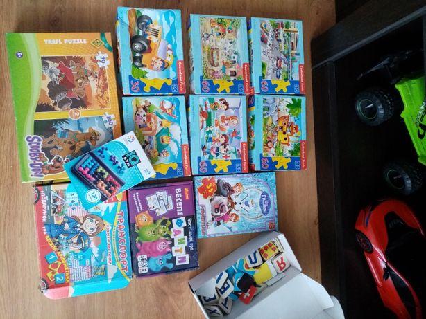 Пазлы 8 коробок ,Фанты, интерактивная игра