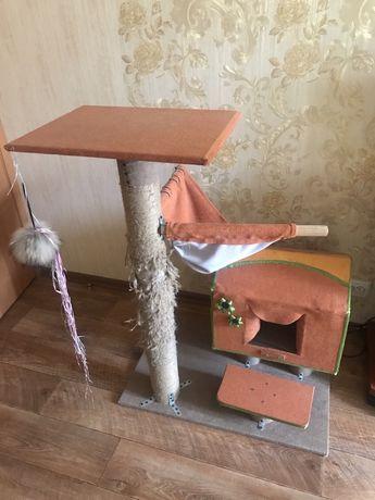 Многофункциональный домик для кошек