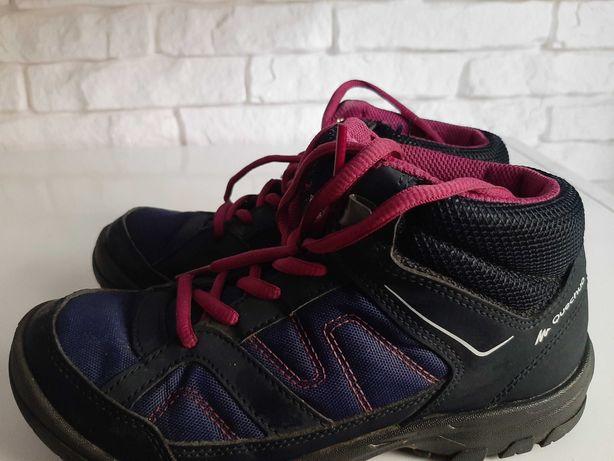 Buty trekingowe dziewczęce Quechua roz.35