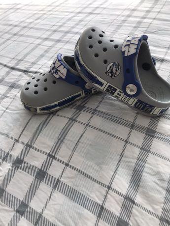 Crocs Star Wars размер 6-7, или EU24, на ножку 14см