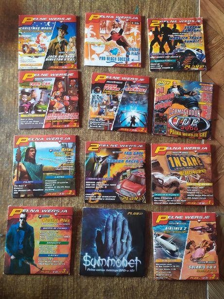 Magazyn PLAY, zestaw 12 płyt CD i 4 numerów z 2003 r, stan bdb