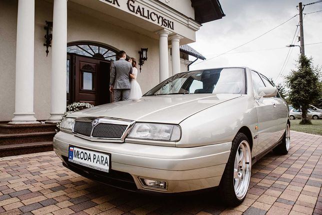Auto do ślubu #limuzynądoślubu klasyk Lancia Kappa