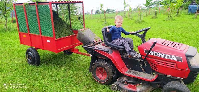 Przyczepka do traktorka , quada wywrotka samozbierajaca ogrodowa