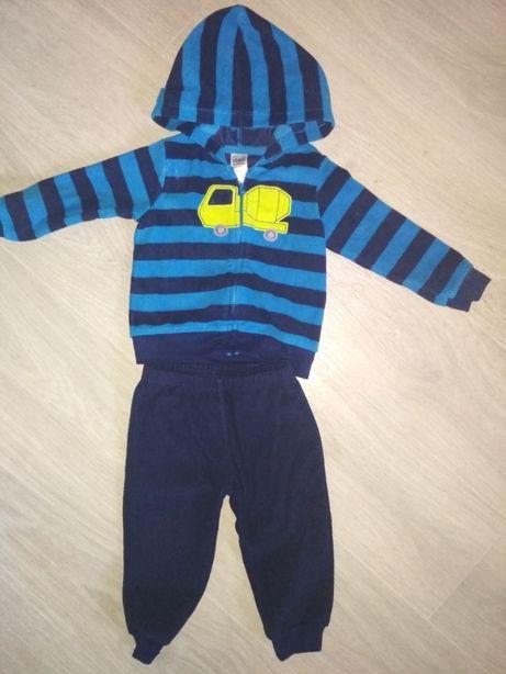 Пакет одежды на мальчика. Кофточки р86