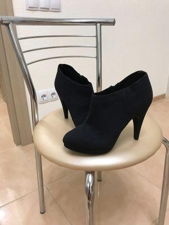 Новые замшевые женские ботинки бренд H&M