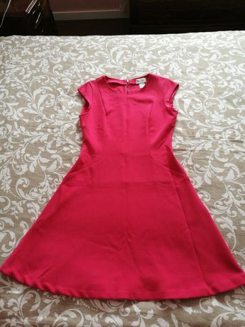 Vestido rosa forte La Redoute OFERTA PORTES CORREIO NORMAL