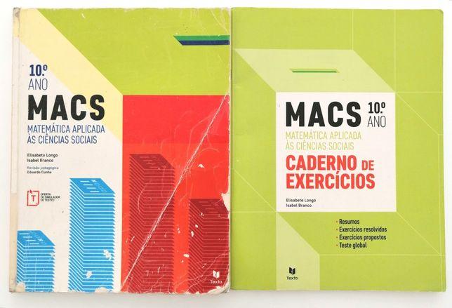 Macs 10 - Matemática Aplicada às Ciências Sociais