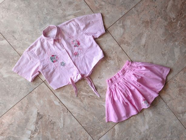 Шикарний комплект юбка-шорти і кроп-топ by Thailand style!