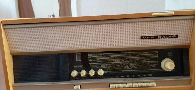 Радиола vef radio