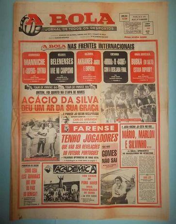 8 Jornais A BOLA de 1986