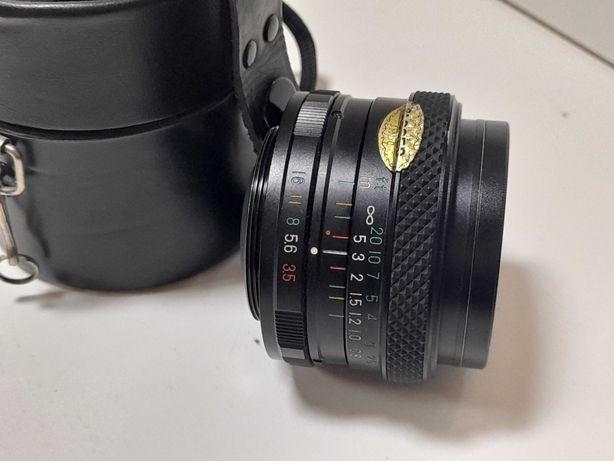 Objetiva Fujica EBC 3.5 28mm