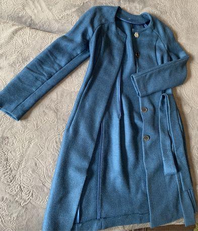Пальто женское ручной работы