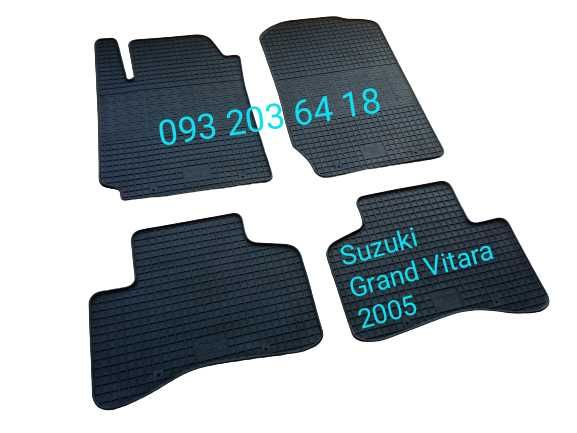 Коврики резиновые Suzuki Grand Vitara 2005