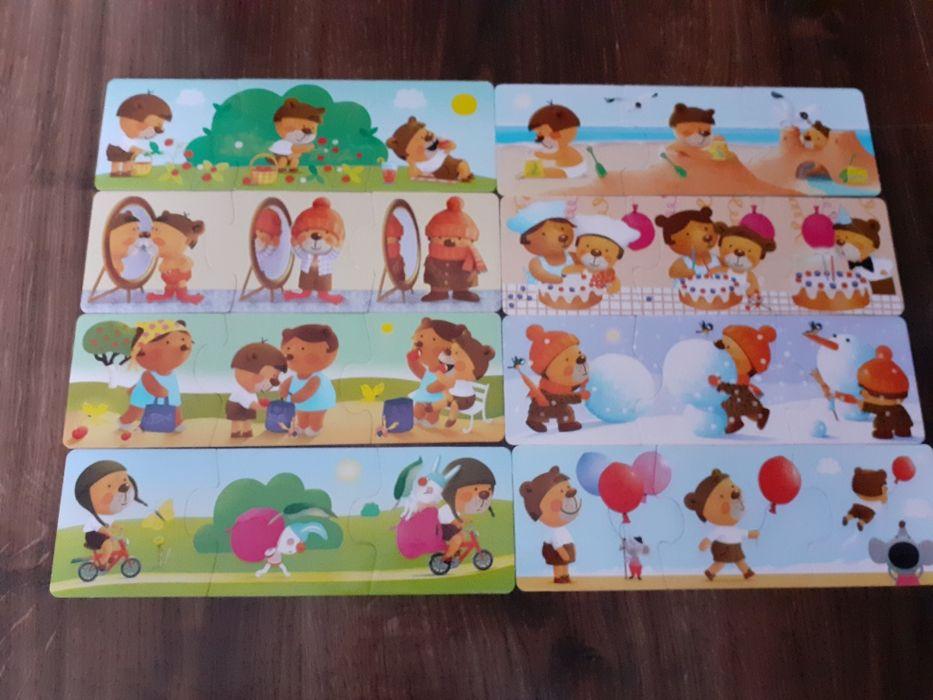 Puzzle dla dziecka zabawka 2 - 4 lata Granna Łódź - image 1