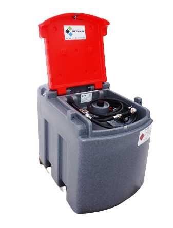 Zbiornik mobilny przenośny 460L na paliwo olej napędowy