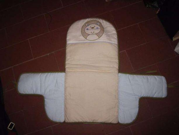 proteção almofadada (muda fraldas) cadeira papa
