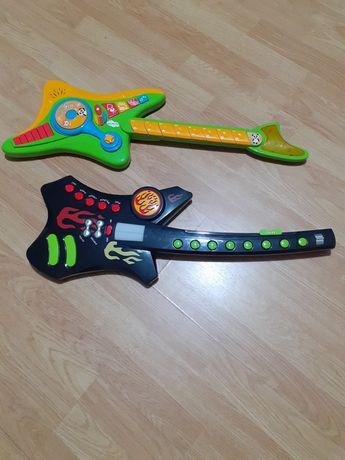 Duas guitarras electronicas