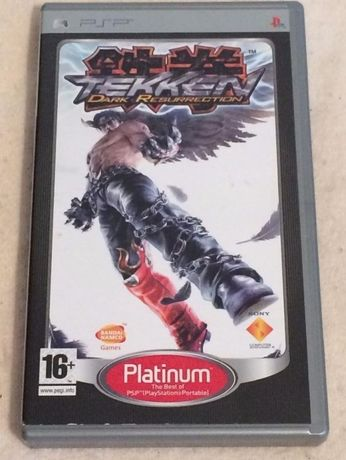"Jogo para PSP ""Tekken"" Dark Resurrection"