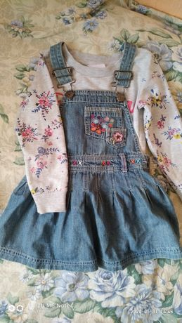 Одежда для девочки 3-4года