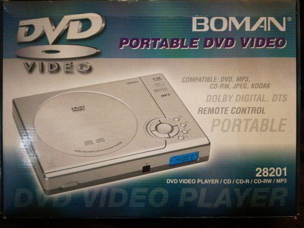 DVD portátil novo