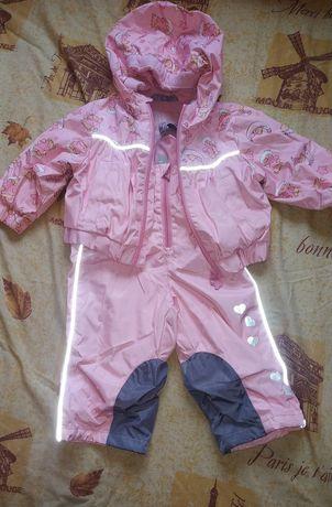 Демисезонный комбинезон костюм на девочку рост 68-82