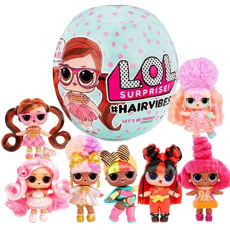 LOL Laleczka HAIRVIBES Z Kolorowymi włosami LALKA