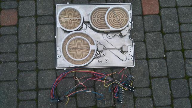 elementy grzejne płyty ceramicznej Ariston KC 602 DO