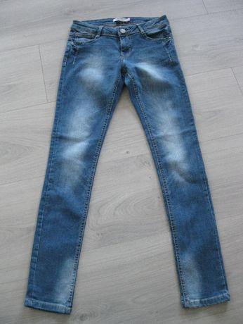 spodnie dżinsowe nowe dziewczęce, rozmiar XS