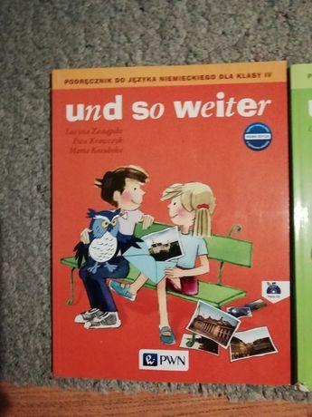 """J. niemiecki""""Und so weiter"""" podręczniki klasa 4 i 5"""