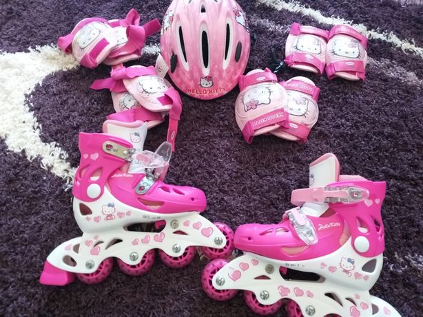 Patins da hello kitty
