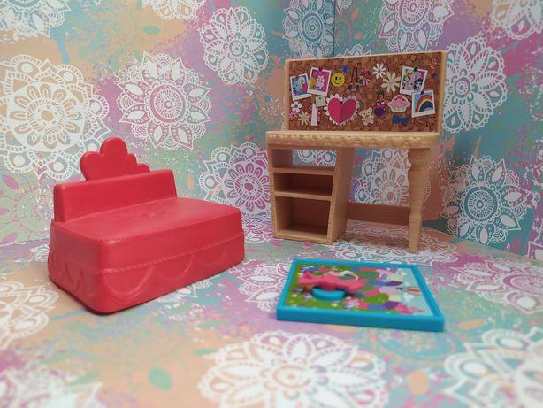 Мебель из набора с Пинки Пай my little pony