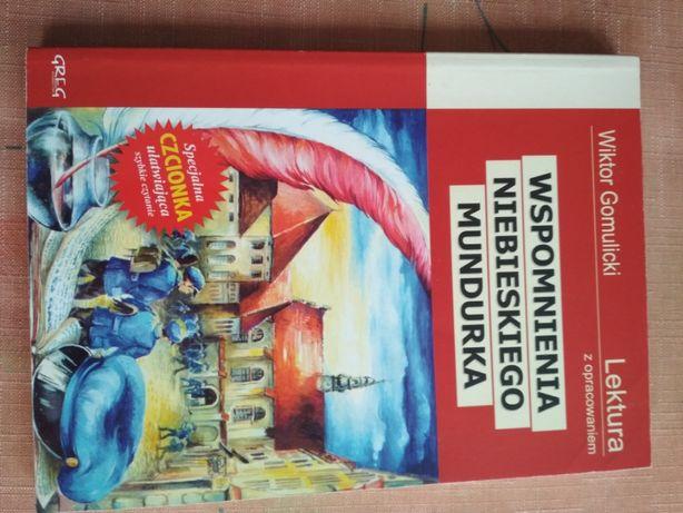 Sprzedam książkę Wspomnienia niebieskiego mundurka - Gomulicki Wiktor