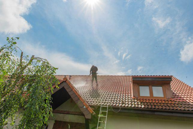 Mycie, Czyszczenie Dachu, Elewacji Budynków, Kostki brukowej, Ogrodzeń