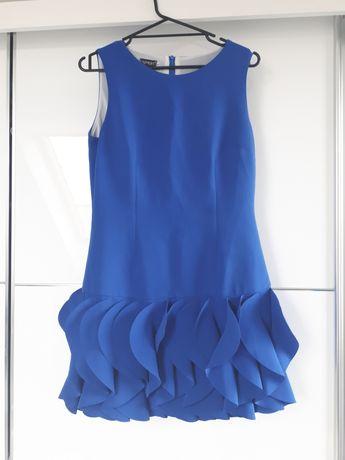 Sukienka chabrowa rozmiar 38 #5