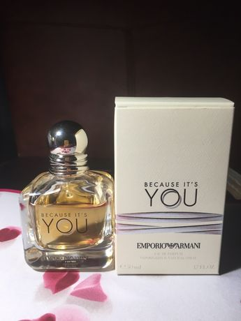 Giorgio Armani Emporio Armani Because It's You Оригинал !