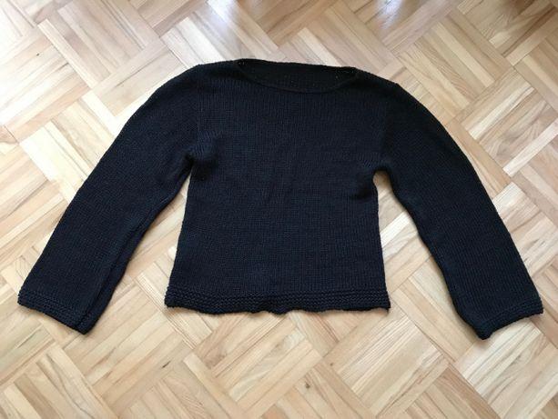 Czarny sweter S 36